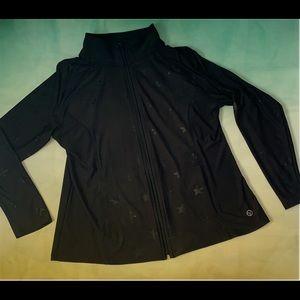Jackets & Blazers - ⭐️Star print NWOT workout jacket!⭐️
